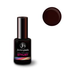 Fantasy Nails Stylist, Гель-лак № 043 Dark Burgundy, 8 мл