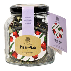 Иван-Чай с брусникой Сибирский кедр 70 г