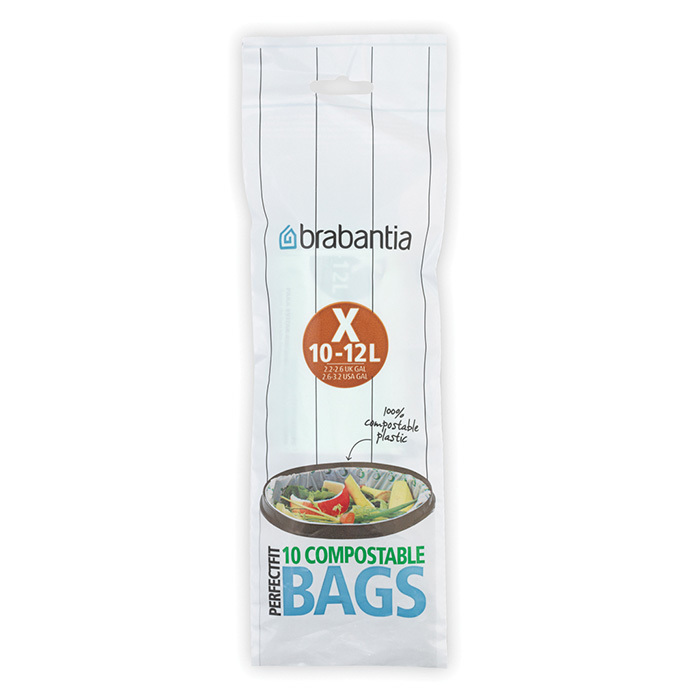Биоразлагаемые мешки для мусора PerfectFit, размер X (10-12л), 10 шт., арт. 118685 - фото 1