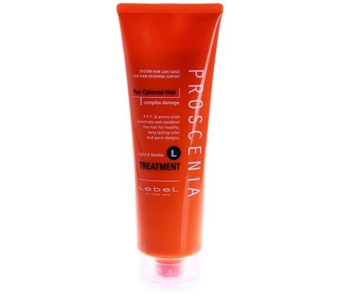 Маска по уходу за волнистыми волосами LEBEL PROSCENIA TREATMENT L, 240 мл.