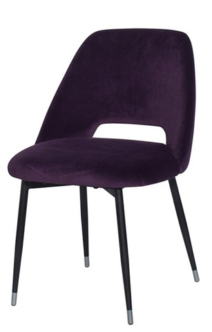46AS-CH3073-VIOL Стул велюр фиолетовый 54,5*58*80см
