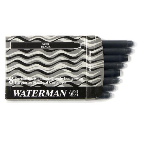 Чернила в картридже Waterman Standard Black (S0110850)
