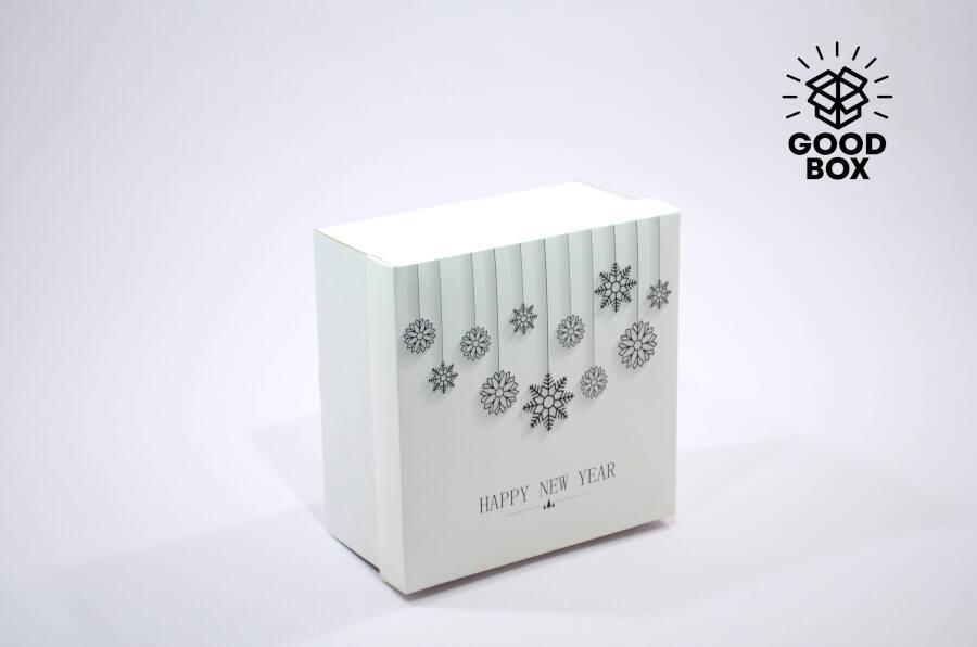 Новогодняя 3д коробка купить в Казахстане