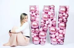 Буквы из шаров купить Москва