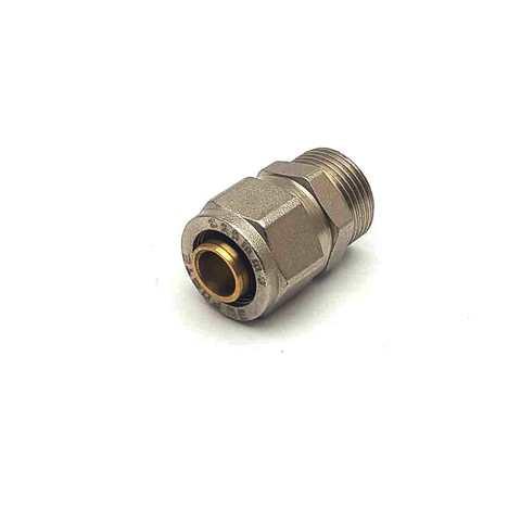 Муфта  для металлопластиковых труб  разборная  20*1/2 наружная резьба SD Forte