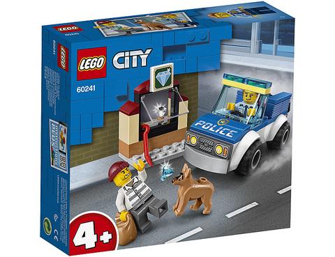 Lego konstruktor City Police Dog Unit