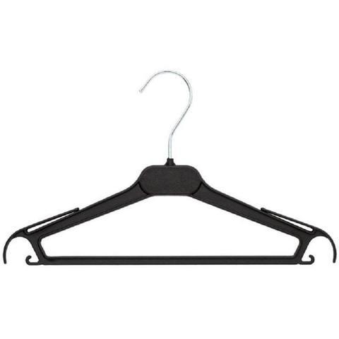 Вешалка-плечики VP_ для легк.одежды Attache,СД01 пласт чер. 310мм р.42-44