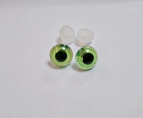 Глазки пластиковые с фиксатором 13мм