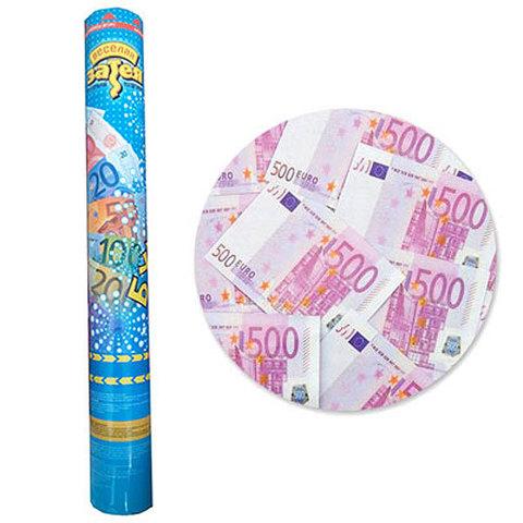 Хлопушка Бумфети 40см Денежный Дождь Евро