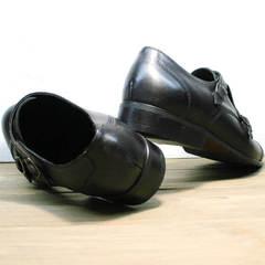 Мужские свадебные туфли кожаные Ikoc 2205-1 BLC.