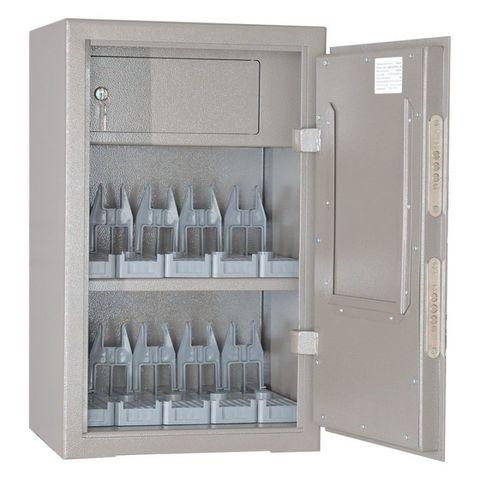 Шкаф оружейный ОШ-10 ПУ (с 10 универсальными ложементами)
