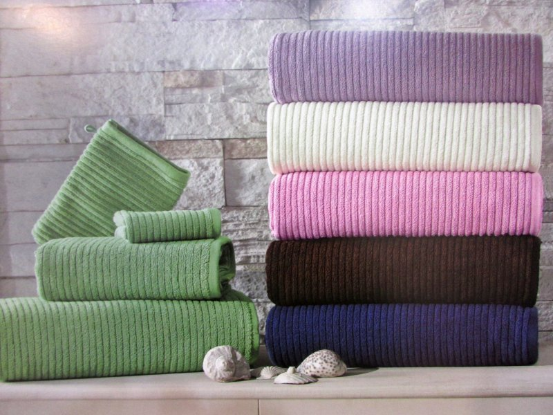 Наборы полотенец Набор полотенец RIVER - РИВЕР 30х50 50х100 и 78х150  Maison Dor (Турция) ривер.jpg