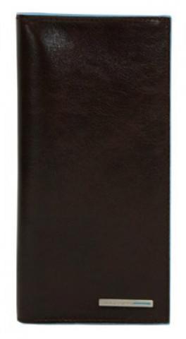 Портмоне Piquadro Blue Square, коричневое, 18х9,5х1 см