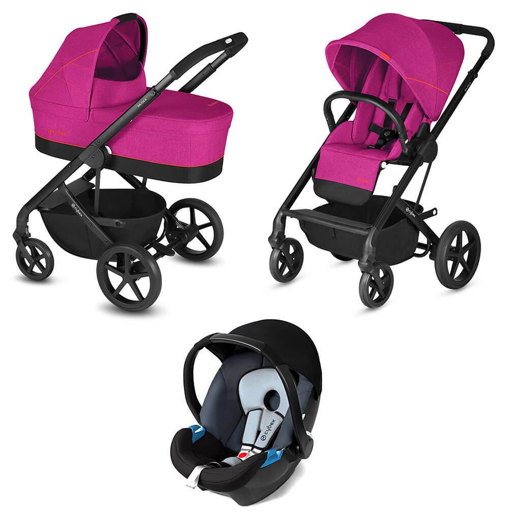 Cybex Balios S 3 в 1 Детская коляска Cybex Balios S 3 в 1 Passion Pink cybex-balios-s-3-in-1-fancy-pink.jpg