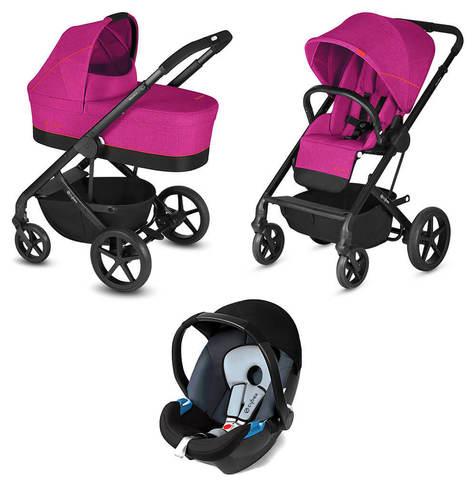 Детская коляска Cybex Balios S 3 в 1 Passion Pink