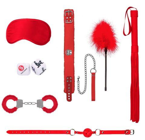 Красный игровой набор Introductory Bondage Kit №6
