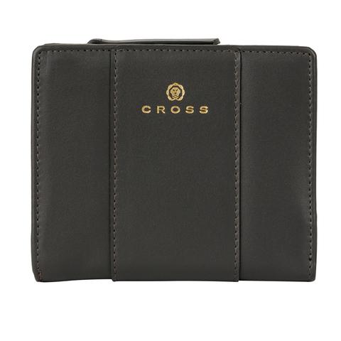 Женский кожаный компактный кошелёк 11х9,5х2см CROSS Kelly Wall Stone AC928083_1-18