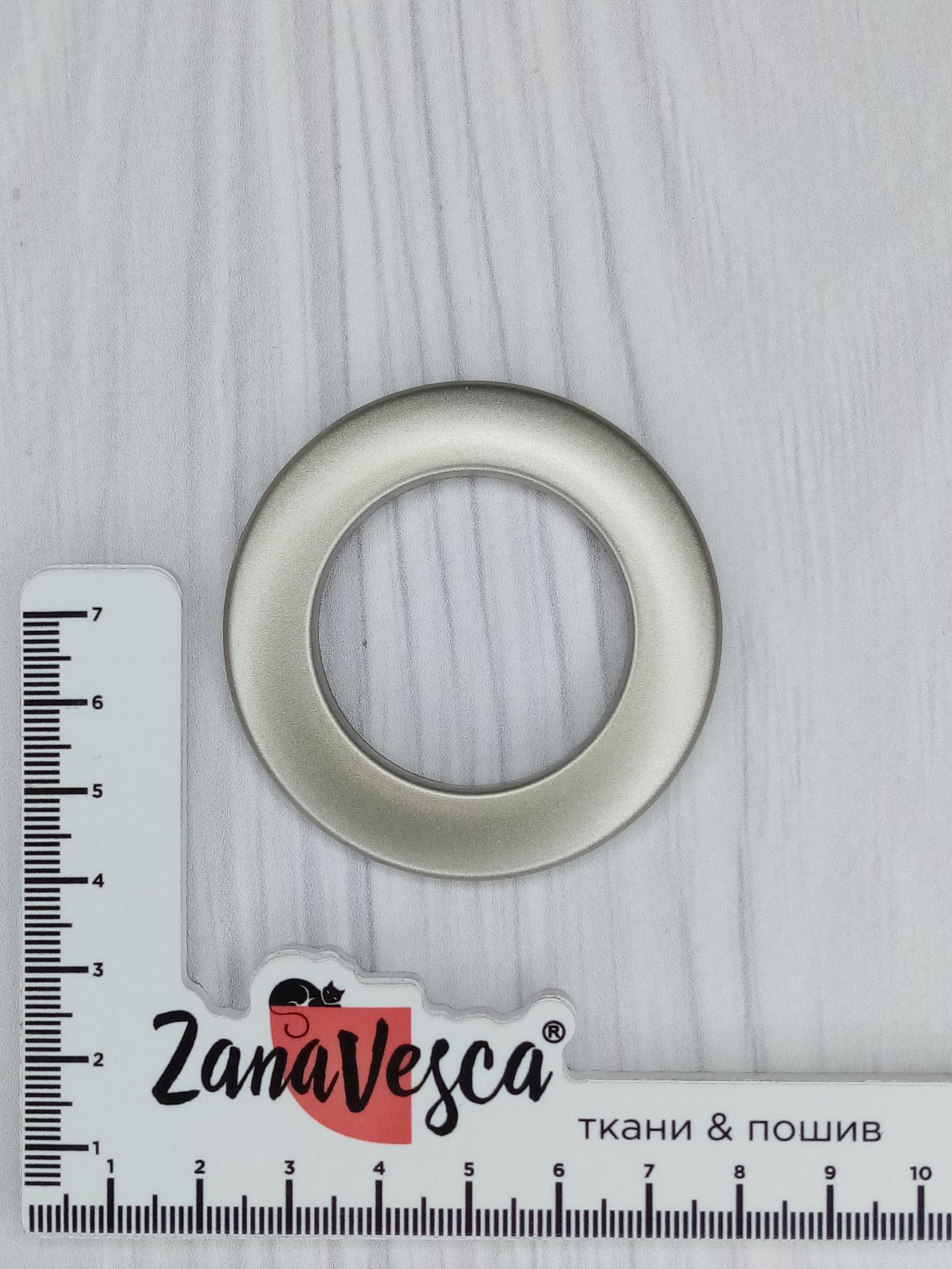 Люверсы Матовая сталь 35 мм цвет №20