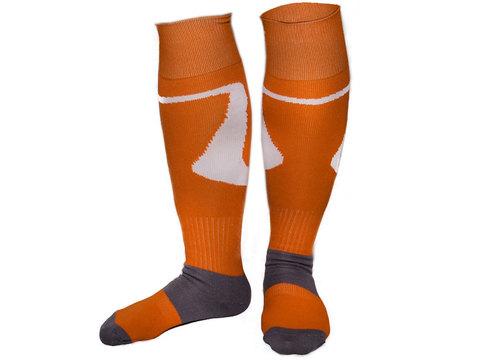 Гетры футбольные профессиональные. Цвет: ярко-оранжевый. р.40-44 :(SG-7 NEW!!!)