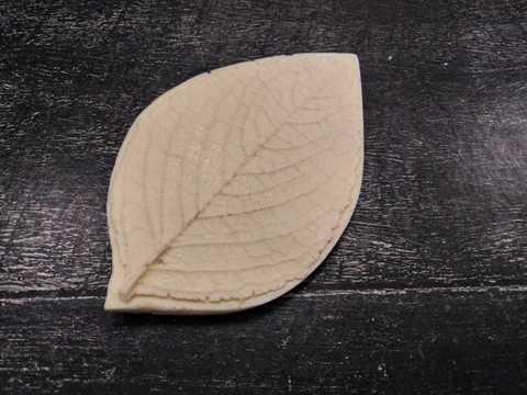 Молд лист, роза, Размер 80х50см. Арт. 0021
