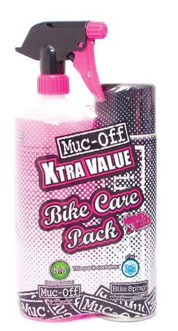 Картинка очиститель Muc-off для чистки и защиты веллосипедов Bikespray Value Duo Pack  - 1