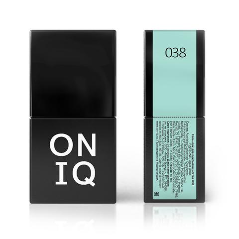 Гель-лак ONIQ - 038 Aqua glass, 10 мл