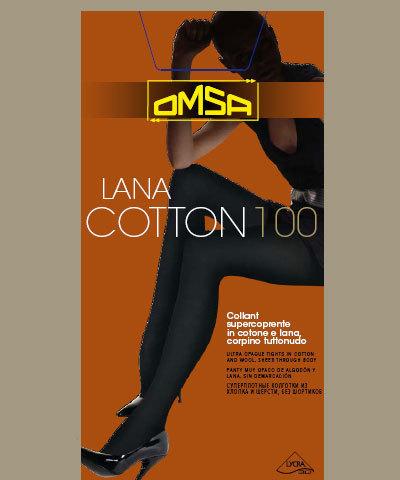 Колготки Omsa Lana Cotton 100
