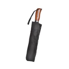 Зонт мужской, черный 140 см, ТРИ СЛОНА (Tri Slona) 705