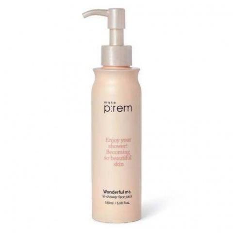 Купить MAKE P:REM Wonderful me In-showder face pack -  Маска для лица быстрого действия