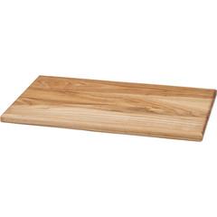 Доска разделочная деревянная 490-500х300х20 мм бук (артикул производителя 15183)