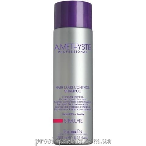 Farmavita Amethyste Stimulate Hair Control Shampoo - Шампунь для стимулирования роста волос