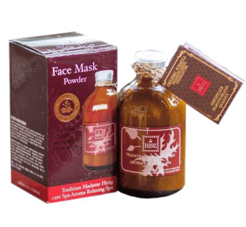 Маска-Пудра с Куркумой Тамариндом и травами от Madame Heng. Original Mask Powder. 50 гр