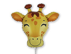 F Мини-фигура, Голова Жирафа, 9