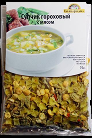 Суп гороховый с мясом 'Здоровая еда', 70г
