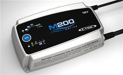 Зарядное устройство для 12В АКБ (8 этапов, 50‐300Aч) M 200