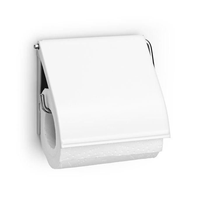Держатель для туалетной бумаги ReNew, Белый, арт. 414565 - фото 1