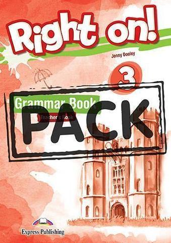 Right On! 3 Grammar Book Teacher's (with Digibooks App). Сборник по грамматике для учителя (с ссылкой на электронное приложение)