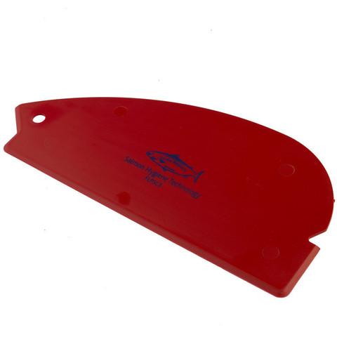 Скребок ручной Hillbrush эластичный 200 мм красный