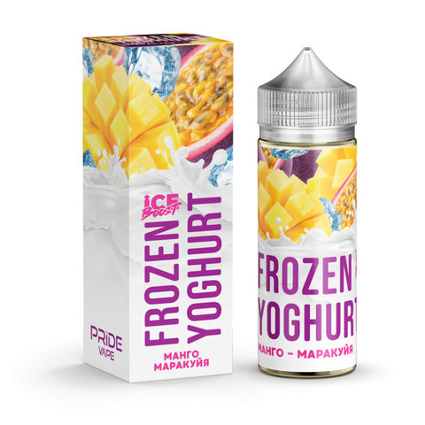 Жидкость Frozen Yoghurt Ice Boost 120 мл Манго Маракуйя