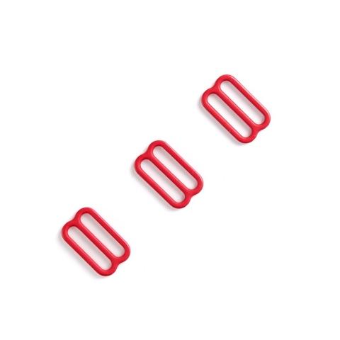 Регулятор для бретели красный 15 мм (цв. 100)