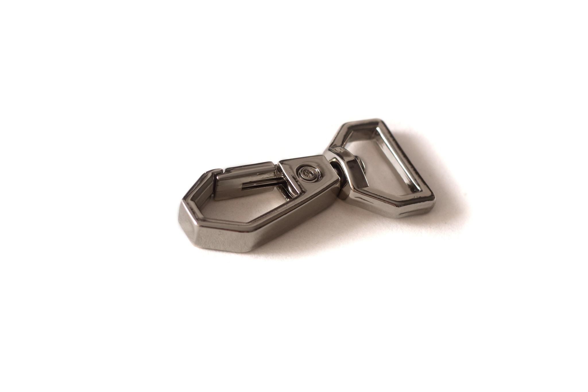 Карабин 12,6 мм, никель