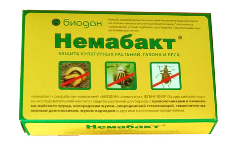 Немабакт от медведки, майского жука, проволочника, колорадского жука, 160 г