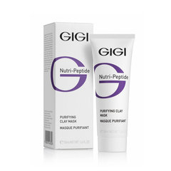 Очищающая глиняная маска для жирной кожи Purifying Clay Mask, GiGi, Nutri-Peptide, 50 мл