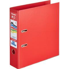 Папка-регистратор Esselte Стандарт Плюс 80 мм красная