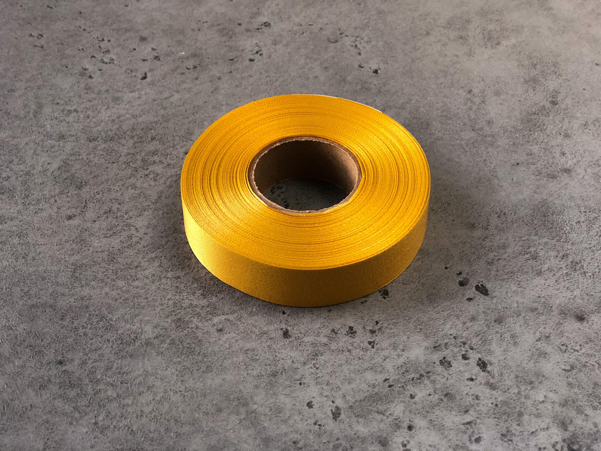 Лента атласная «Золотая» 20 мм, 45 м