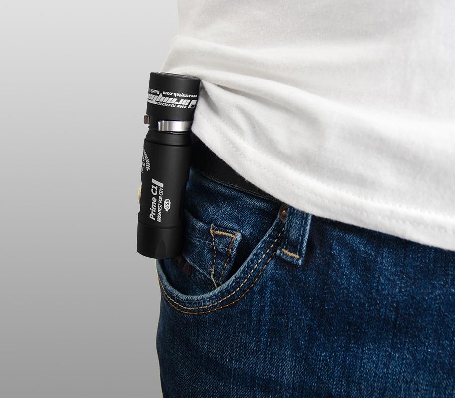 Фонарь на каждый день Armytek Prime C1 Magnet USB (тёплый свет) - фото 3