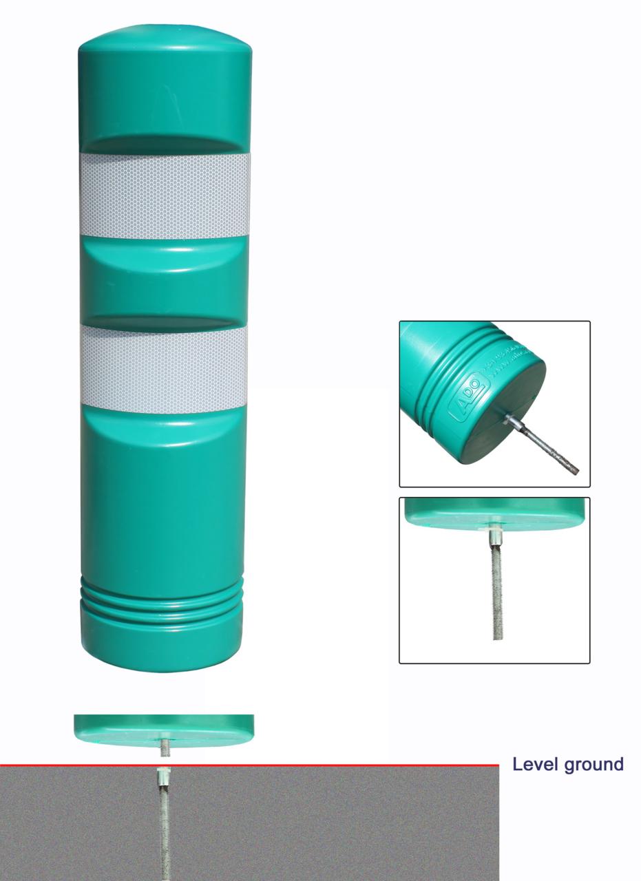 Крепление пластикового дорожного столбика ADO 750