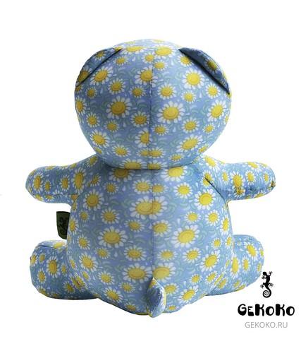 Подушка-игрушка антистресс Gekoko «Ромашковый Мишка» 6