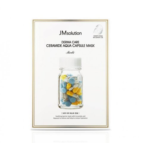 JM Solution Derma Care Ceramide Moisture Gauze Mask (25ml*10ea)