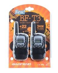 Комплект раций Baofeng BF-T3 - черные